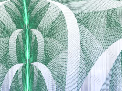 Green Woven Mesh Abstract Background