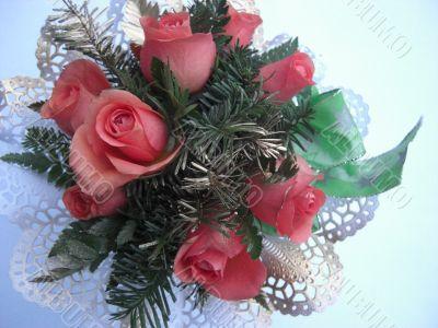 valentine´s day flower arrangement