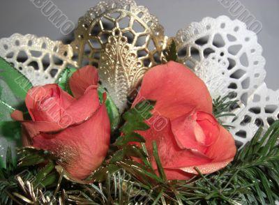 roses - valentine´s day nosegay