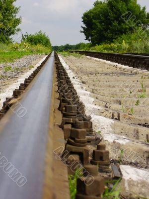 Old rails, summer