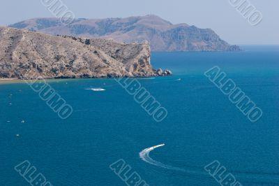 Black Sea`s lagoon