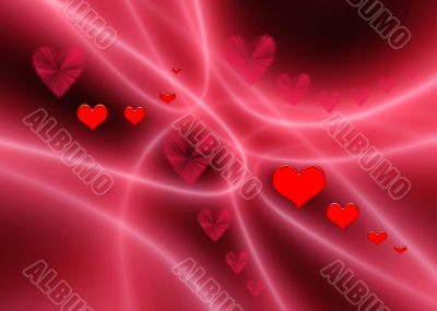 Valentines abstract