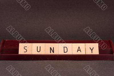 Words - Sunday