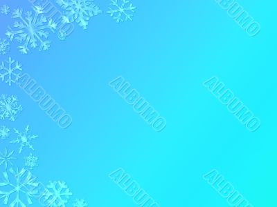 snowflake page background