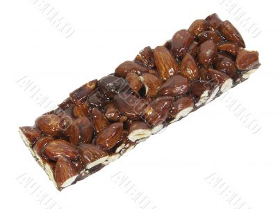 Almond Brittle Isolated