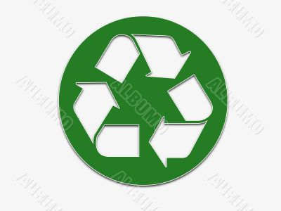 Recycle Sticker Graphic
