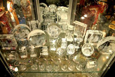 Souvenirs to sale