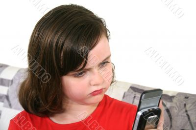Child With Cell Phone 1