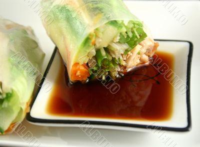 Vietnamese Rice Paper Rolls 2