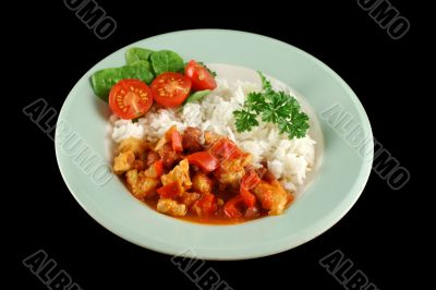 Chicken And Lentil Stew With Rice 2