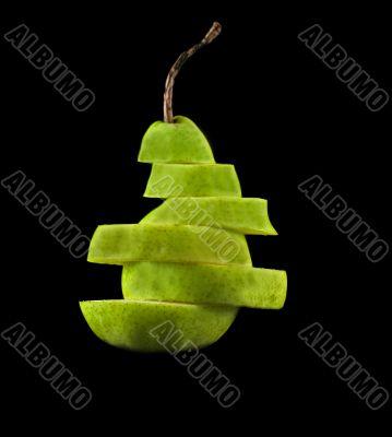 Layered Pear