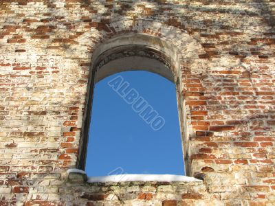 arc window background frame 01