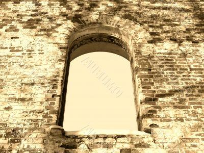 arc window background frame 02