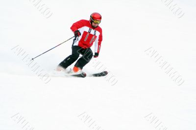 Speed skiing