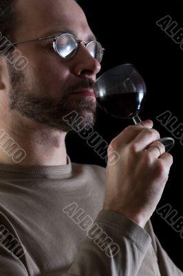 tasting of wine