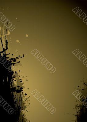 ink drag gold