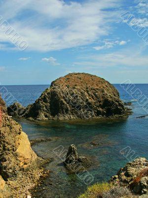coast at Cabo de Gata, Spain