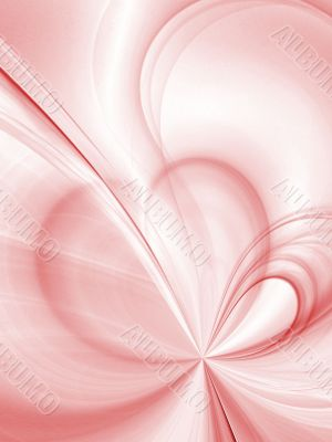 Soft Heart Abstract Background