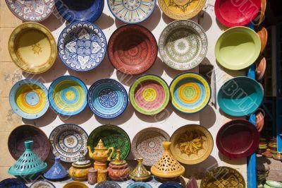 Moroccan Ceramic Handpainted Dishes