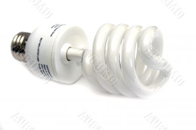 Self-ballasted fluorescent economical lamp