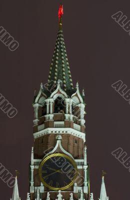 Kremlin Tower close up