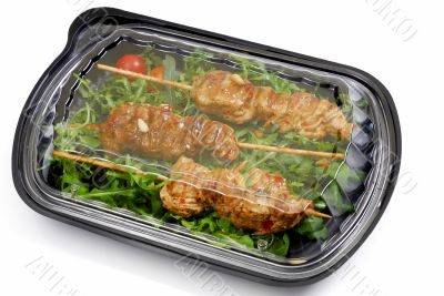 Meal to go, Fast food