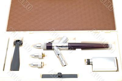 drawing tool kit in box