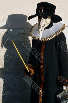 Venice carnival mask Medico della Peste