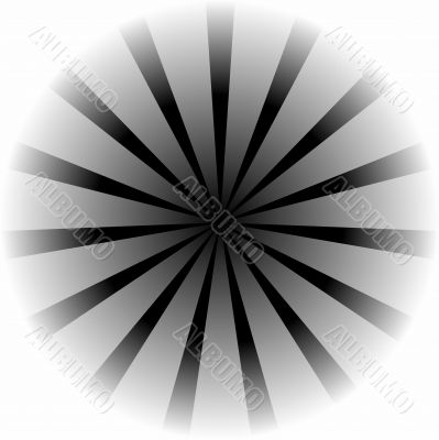 Black White Vortex Design