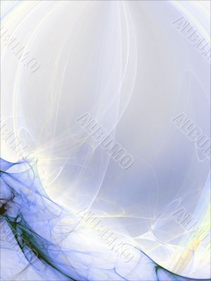 Layered Sheer Abstract Background