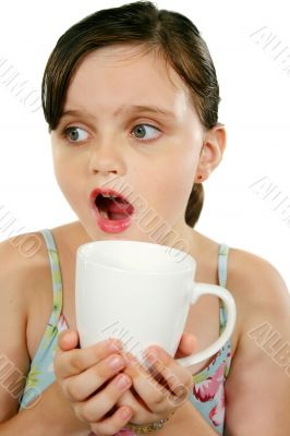 Child With Coffee Mug 1
