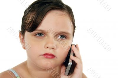 Child With Cell Phone 2