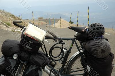 Fully loaded - Mont Ventoux
