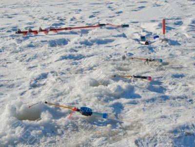 Winter fishing accessory