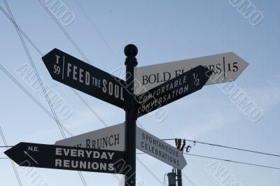 Signs of Direction