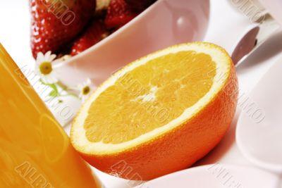 Orange, breakfast