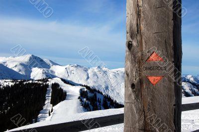 Dangerous Alp Mountains