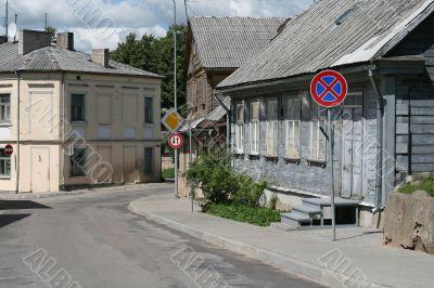 Street in Latvia 02