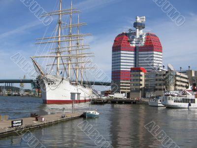 Sweden,Gothenburg,  the `lipstick` tower