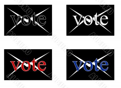 Symbols for postal voting