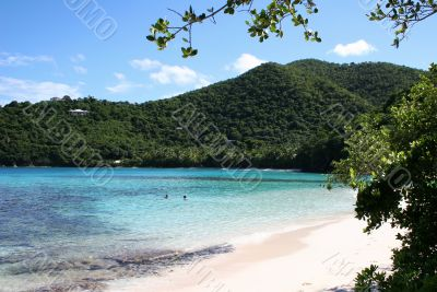 Idyllic Bay on St John