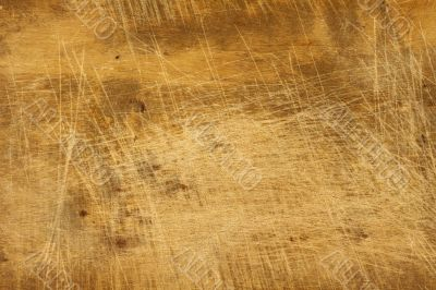 Worn and stained wood