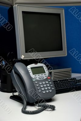 digital phone and computer