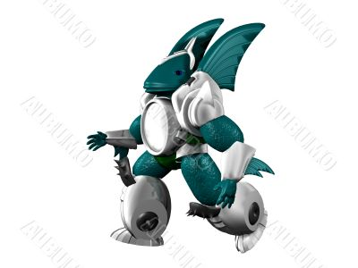 Cyborg-fish