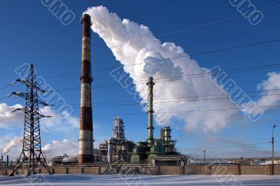 Industrial Oil Refinery