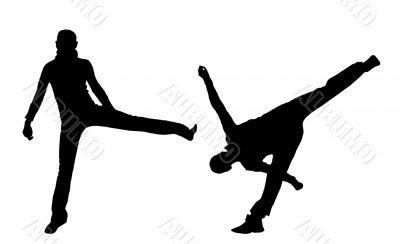 Sporting dance.