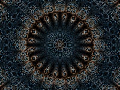 Digital Woven Thread Doily