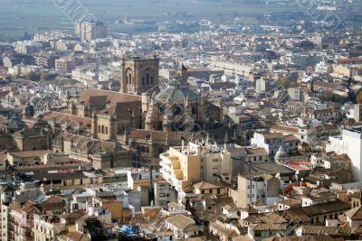 Granada Spain Cityscape