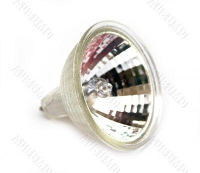 Fluorescent small spot light bulb