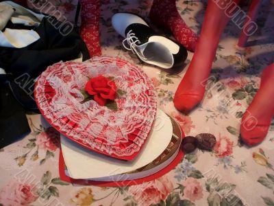 Valentines Day Still Life